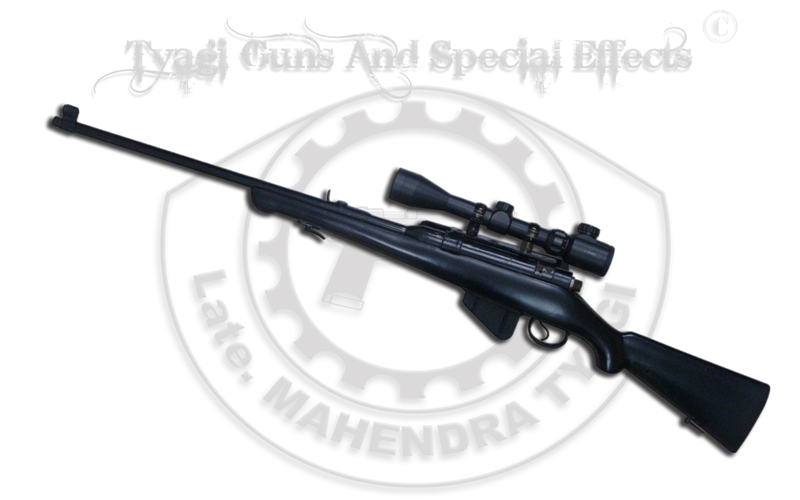 315  Rifle Black with telescope